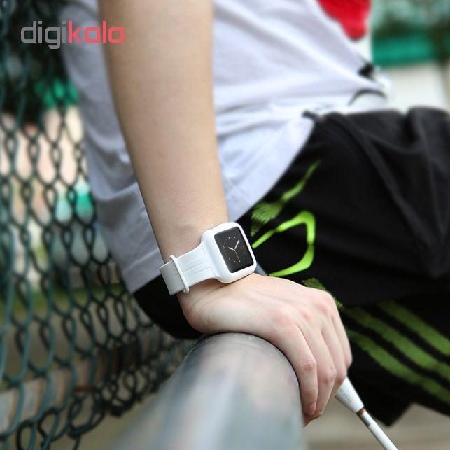 کاور سیلیکونی باسئوس مدل Fresh Color Plus مناسب برای اپل واچ یک 38 میلی متری main 1 11