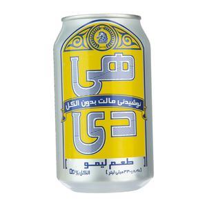 نوشیدنی مالت لیمو هی دی مقدار 0.33 لیتر