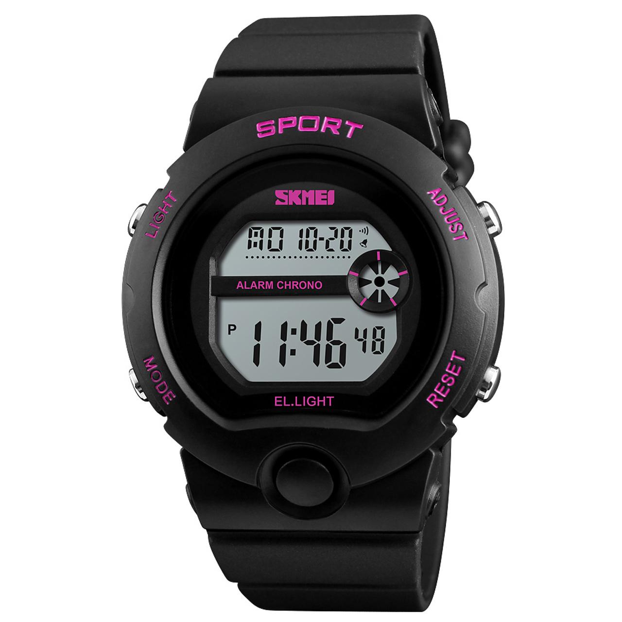 ساعت مچی دیجیتالی زنانه اسکمی مدل 1334 کد 02