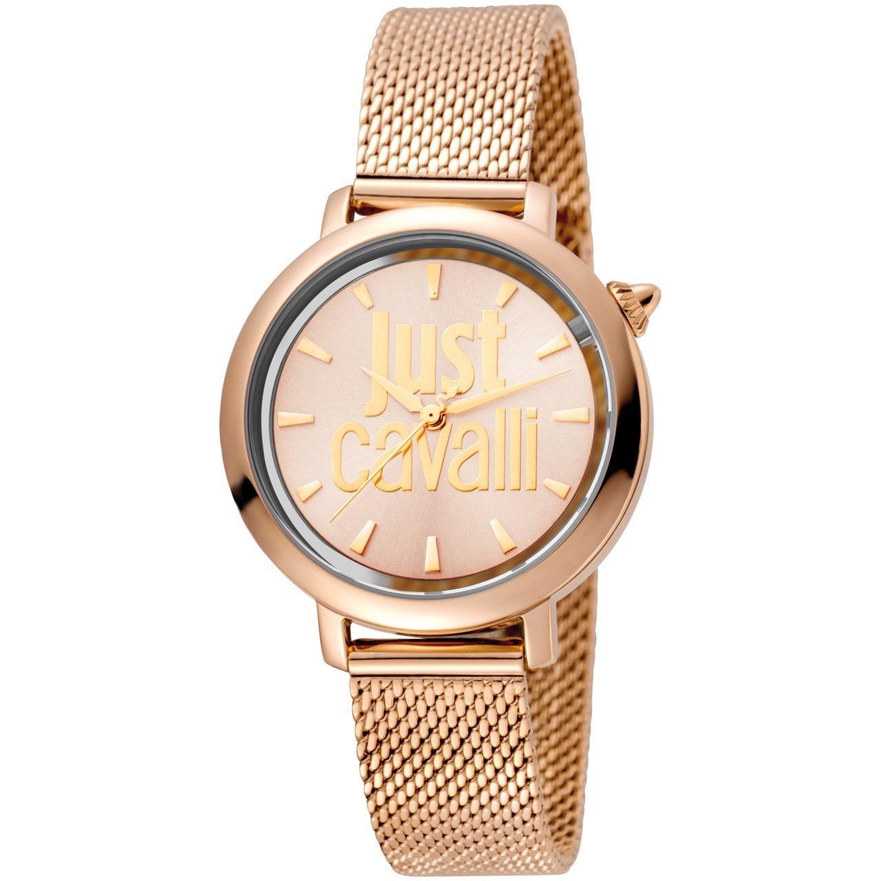 ساعت مچی عقربه ای زنانه جاست کاوالی مدل JC1L007M0075 6