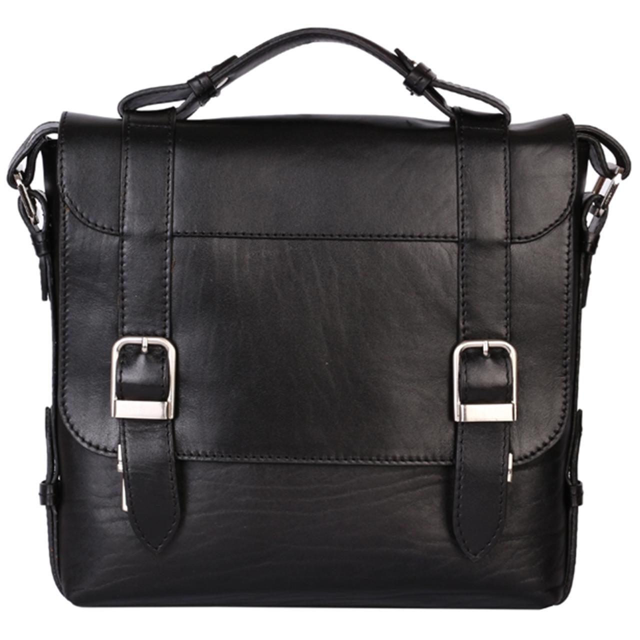 کیف دوشی رویال چرم کد W57-Black