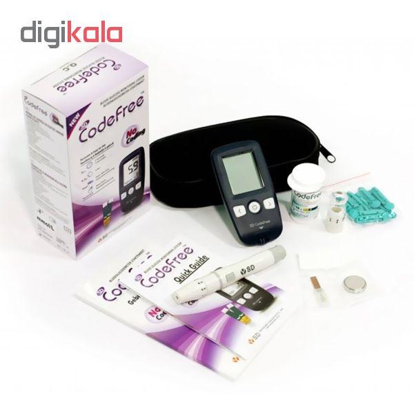 دستگاه تست قند خون اس دی بایوسنسور مدل codefree