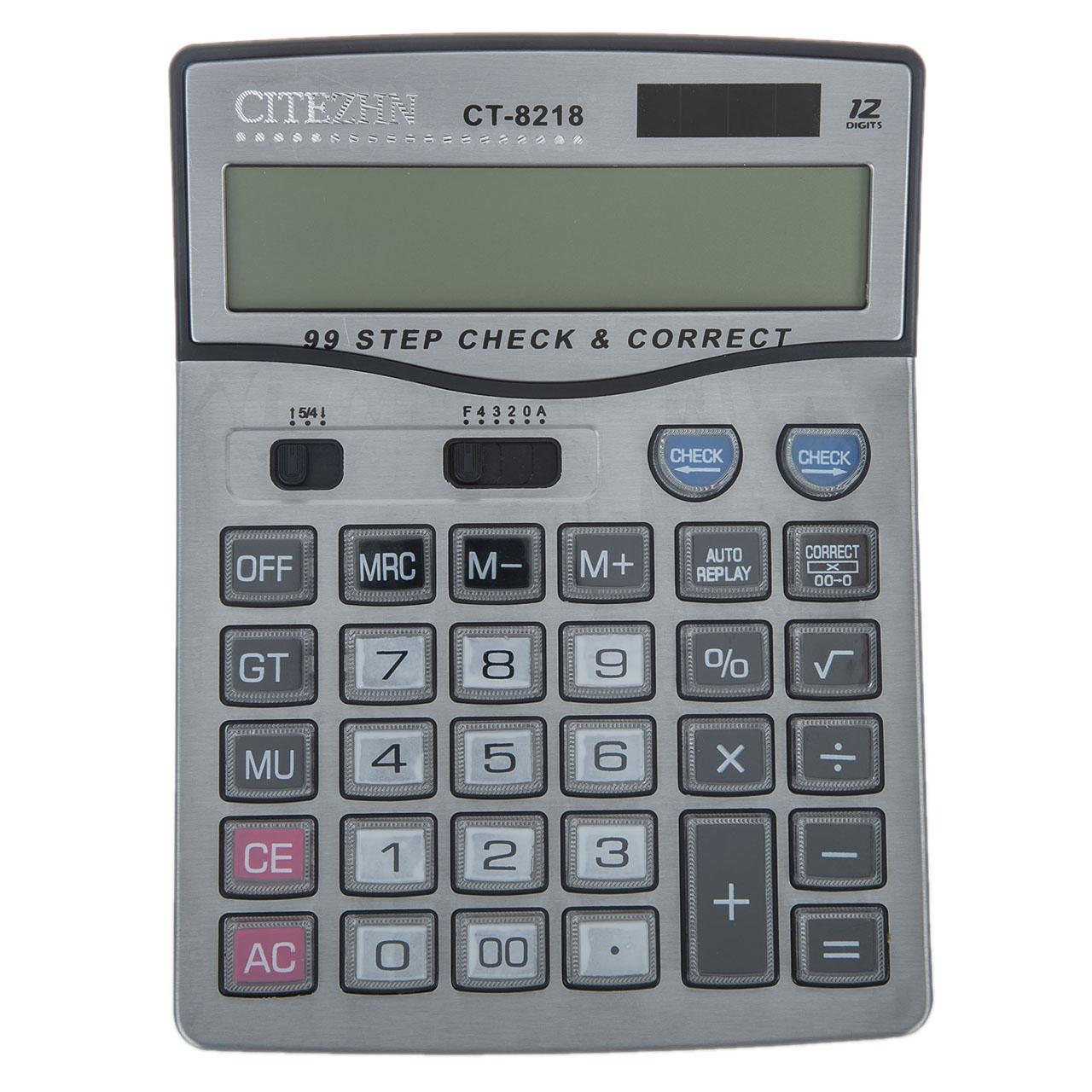 قیمت                      ماشین حساب سیتیژن مدل CT-8218