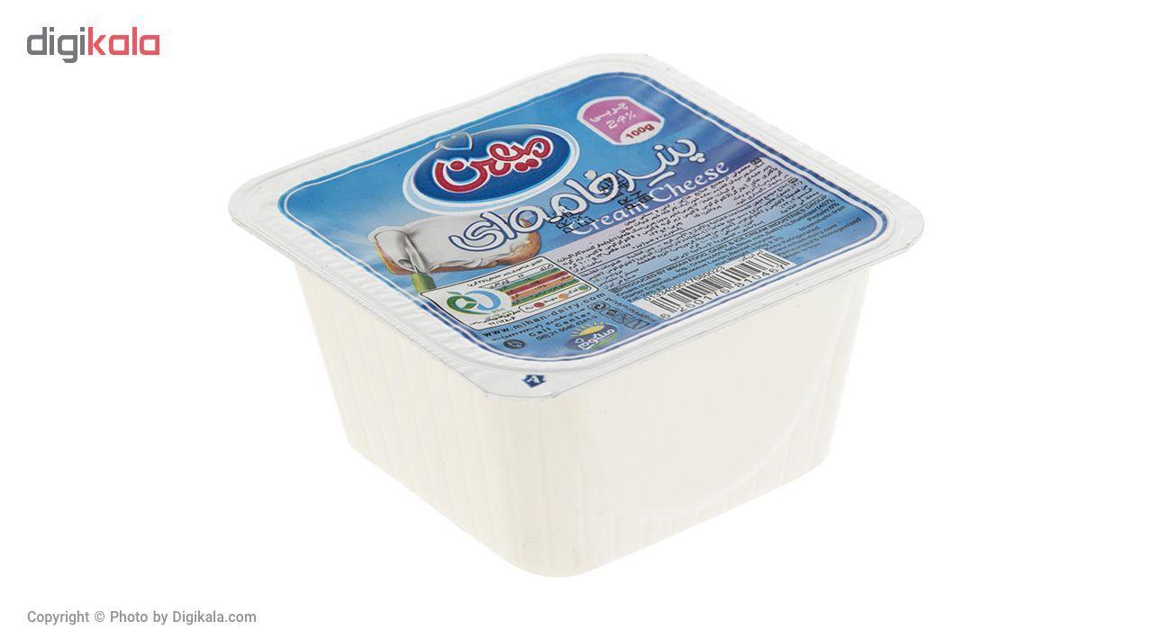 پنیر خامه ای میهن مقدار 100 گرم main 1 1