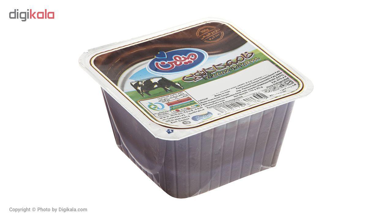 خامه کاکائویی میهن مقدار 100 گرم main 1 2
