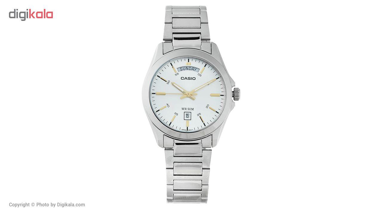 خرید ساعت مچی عقربه ای مردانه کاسیو MTP-1370D-7A2VDF