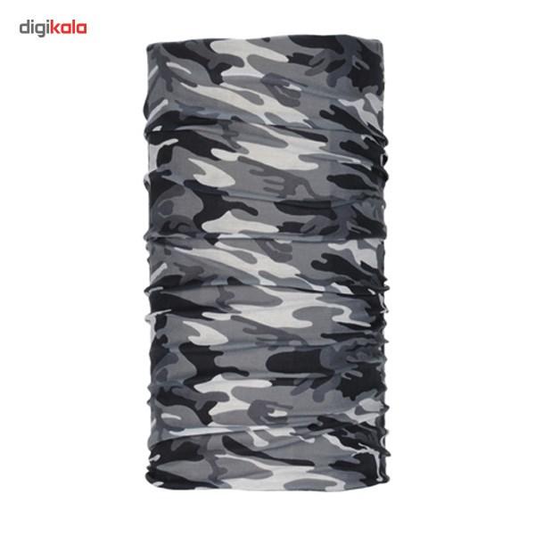 دستمال سر و گردن ویند اکستریم مدل Camo Flag Black 1171
