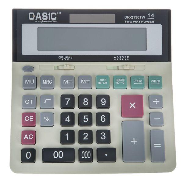 ماشین حساب کاسیک مدل DR-2130TW | QAS1C DR-2130TW Calculator
