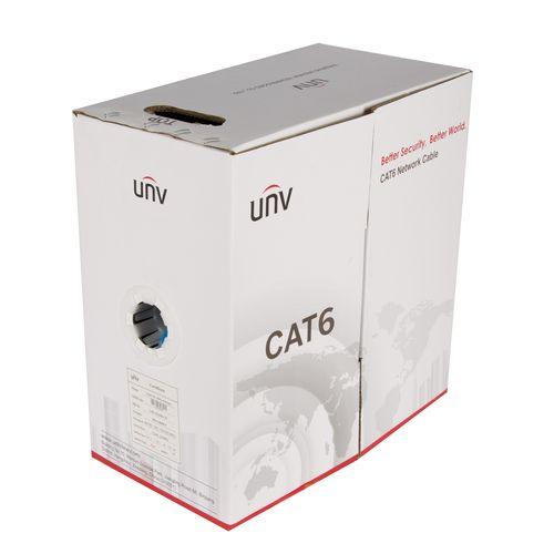 کابل شبکه یو ان وی طول 305 متر نوع CAT6 UTP