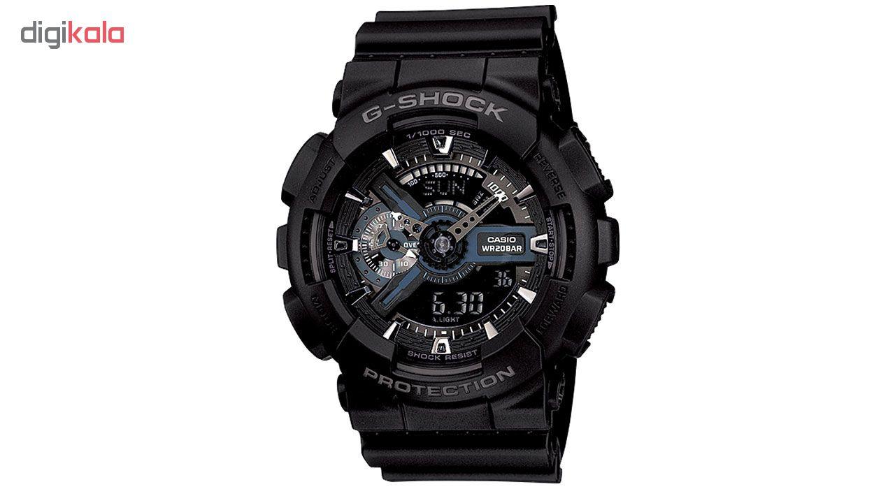 خرید ساعت مچی عقربه ای مردانه کاسیو جی شاک GA-110-1BDR | ساعت مچی