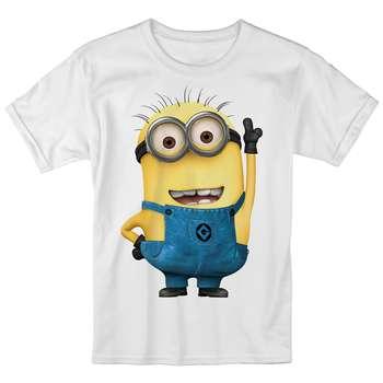 تی شرت بچگانه انارچاپ طرح مینیون مدل T09001 |