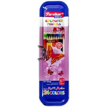 مدادرنگی 24 رنگ پارسی کار مدل JM865-24