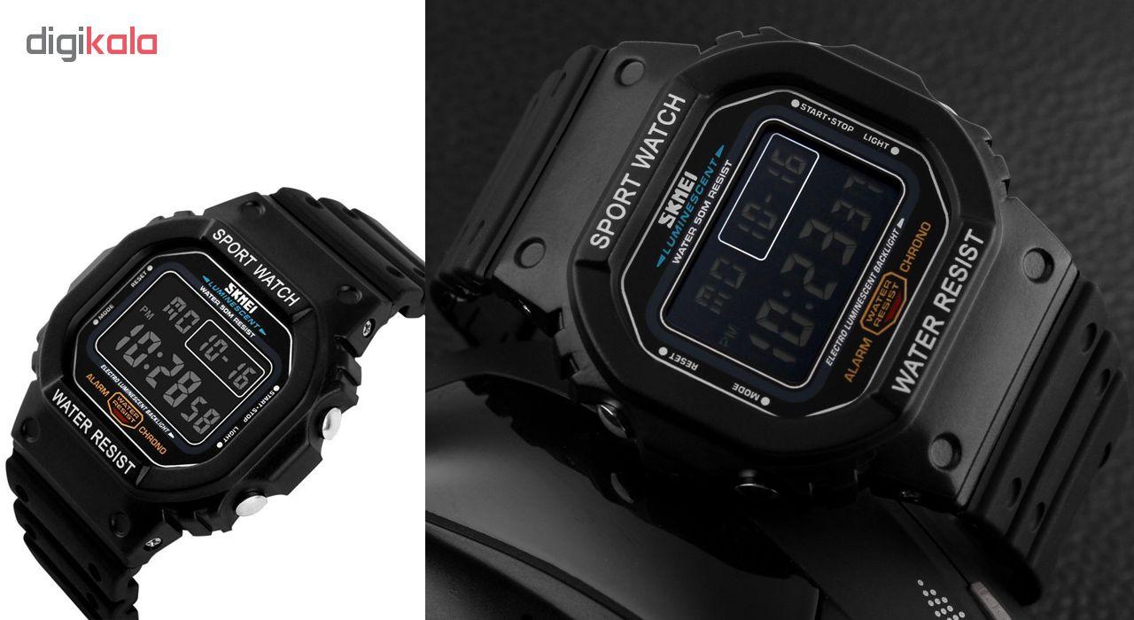 خرید ساعت مچی دیجیتالی مردانه اسکمی مدل 1134