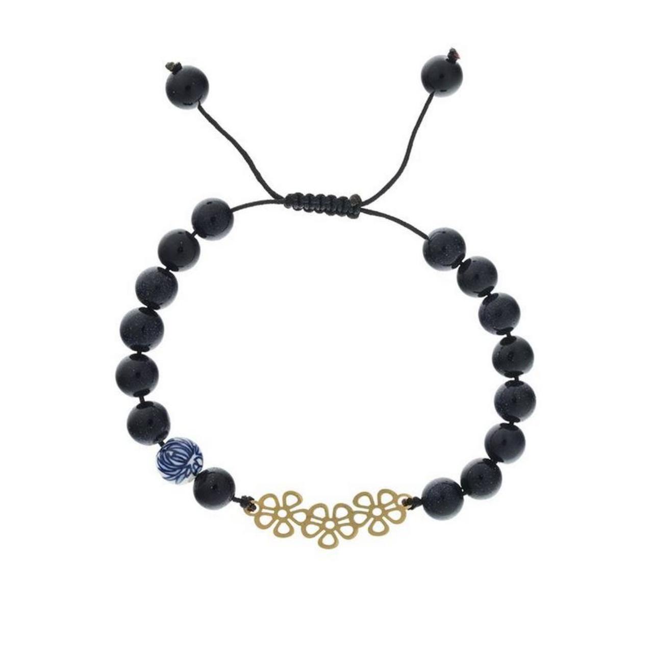 قیمت دستبند طلا 18عیار الن مدل EL64