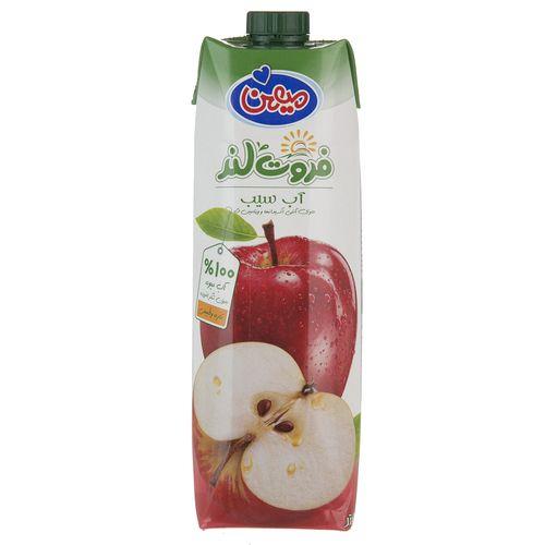 آب میوه سیب میهن حجم 1 لیتر