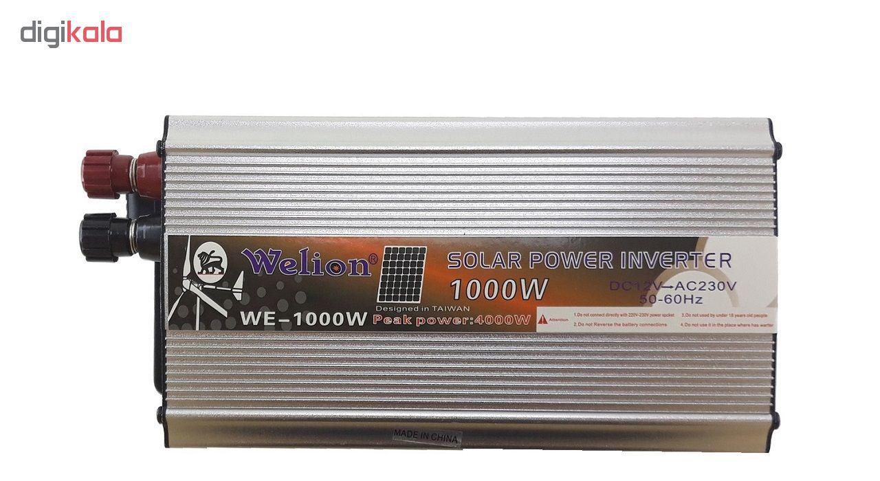 مبدل برق خودرو  ویلیون مدل Green-1000W main 1 1