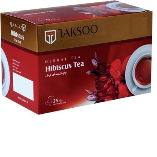 چای کیسه ای ترش تکسو بسته 25عددی