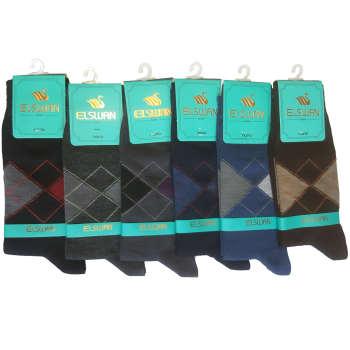 جوراب مردانه ال سون مدل PH02 مجموعه6 عددی