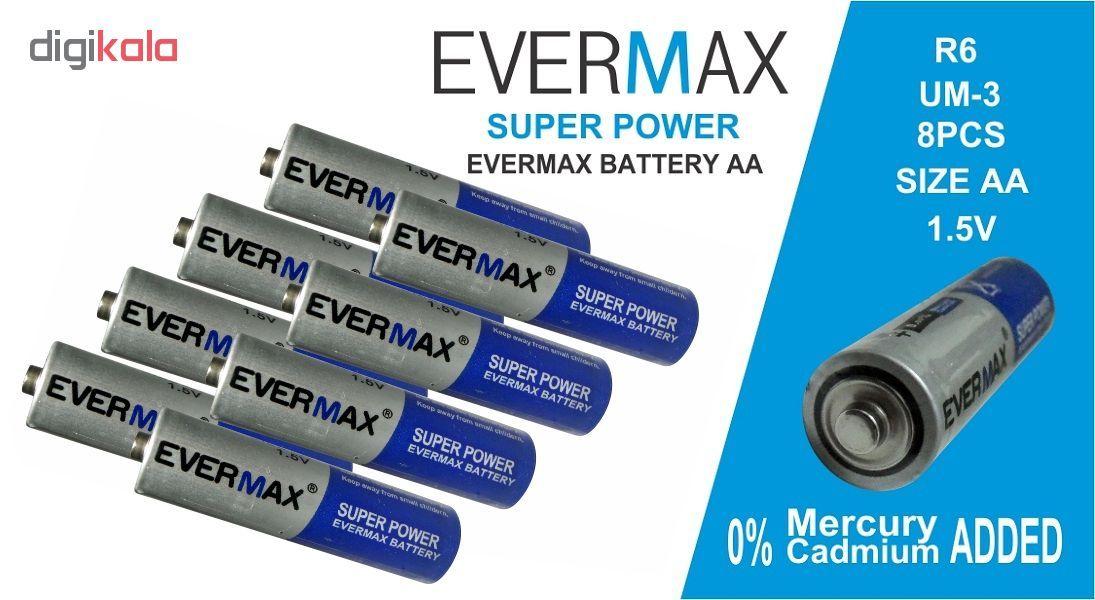 باتری قلمی اور مکس مدل Super Power بسته 8 عددی main 1 3