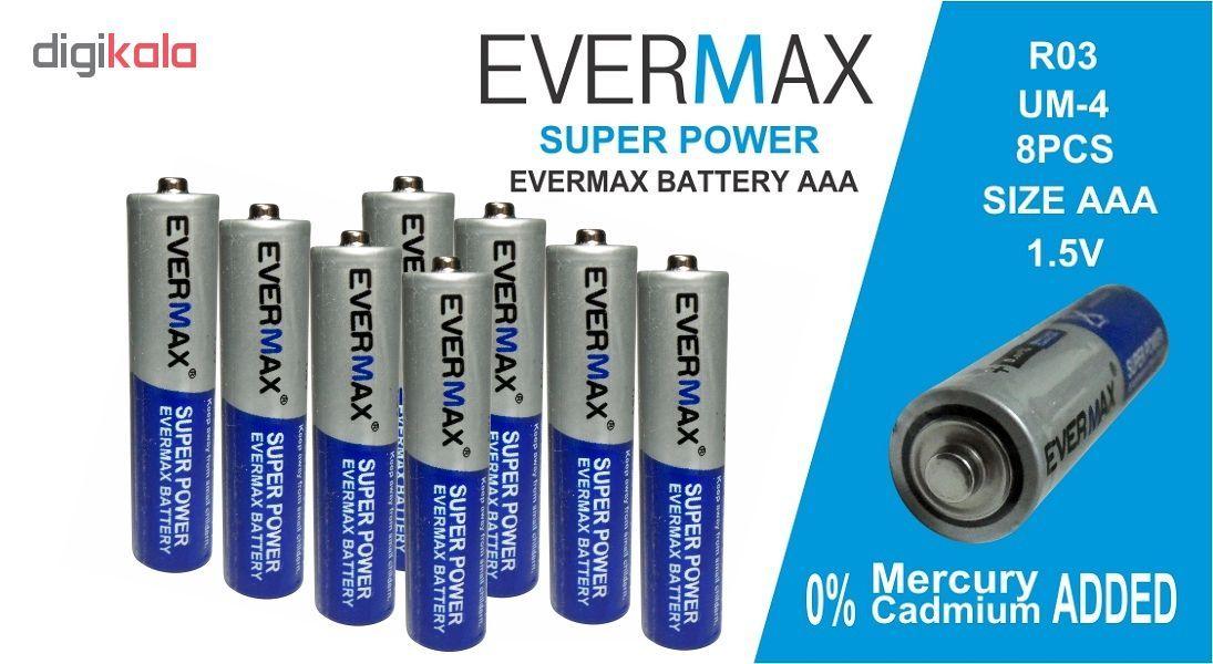 باتری نیم قلمی اور مکس مدل Super Power بسته 8 عددی main 1 1