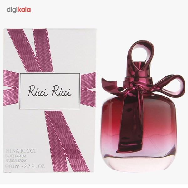 ادو پرفیوم زنانه نینا ریچی مدل Ricci Ricci حجم 80 میلی لیتر