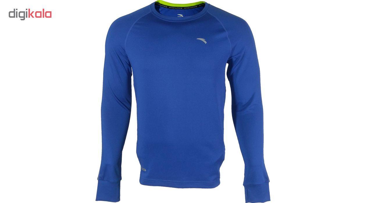 تی شرت آستین بلند مردانه آنتا مدل 85535430-1