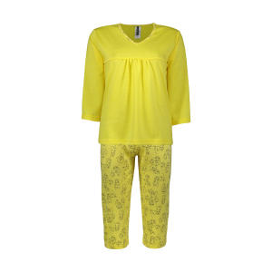 ست تی شرت و شلوارک زنانه کیکی رایکی مدل BB6300-023