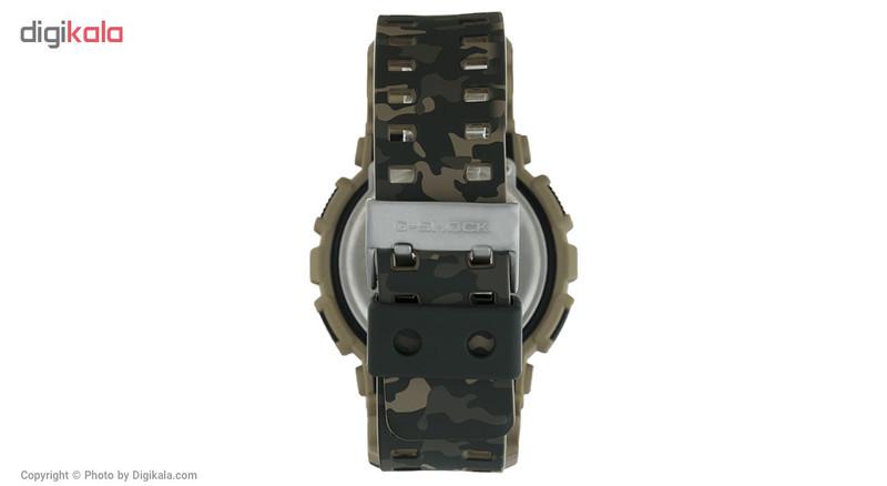 ساعت مچی عقربه ای مردانه کاسیو جی شاک مدل GA-100CM-5ADR