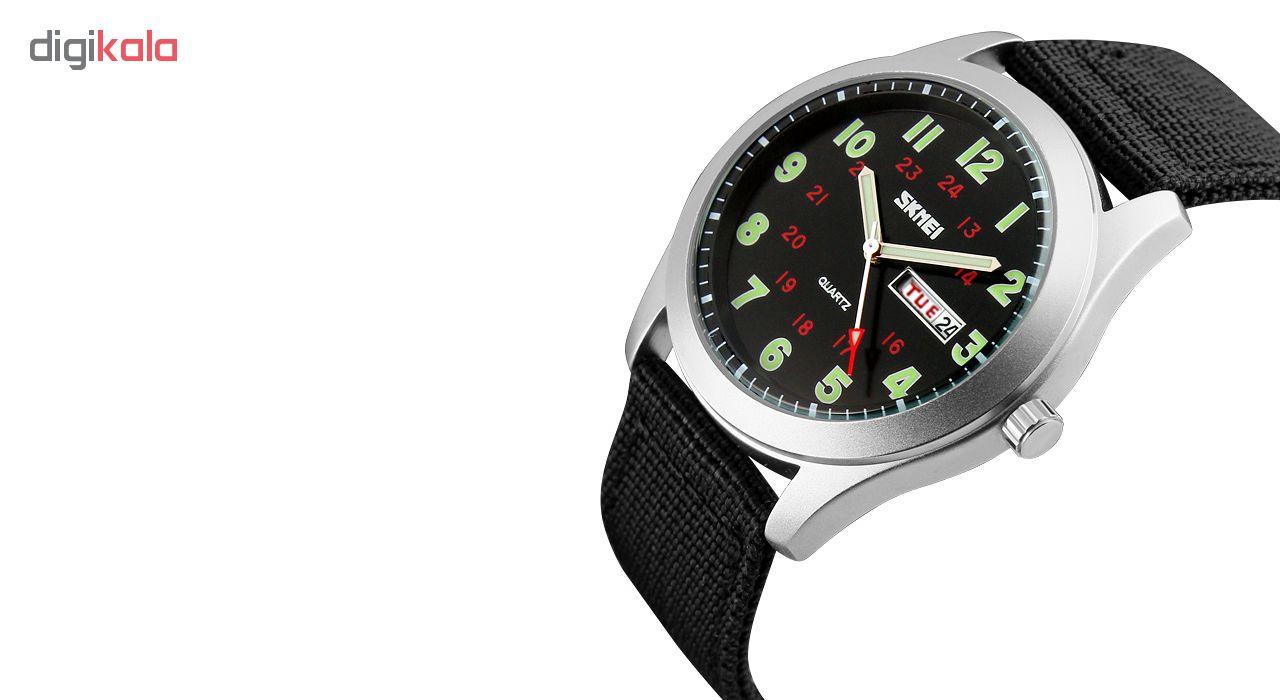 خرید ساعت مچی عقربه ای مردانه اسکمی مدل 9112 کد 01 | ساعت مچی