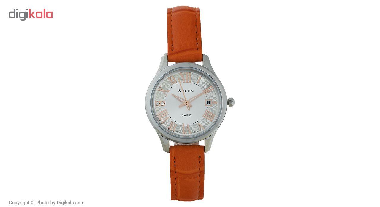 ساعت مچی عقربه ای زنانه کاسیو مدل SHE-4050L-7AUDR