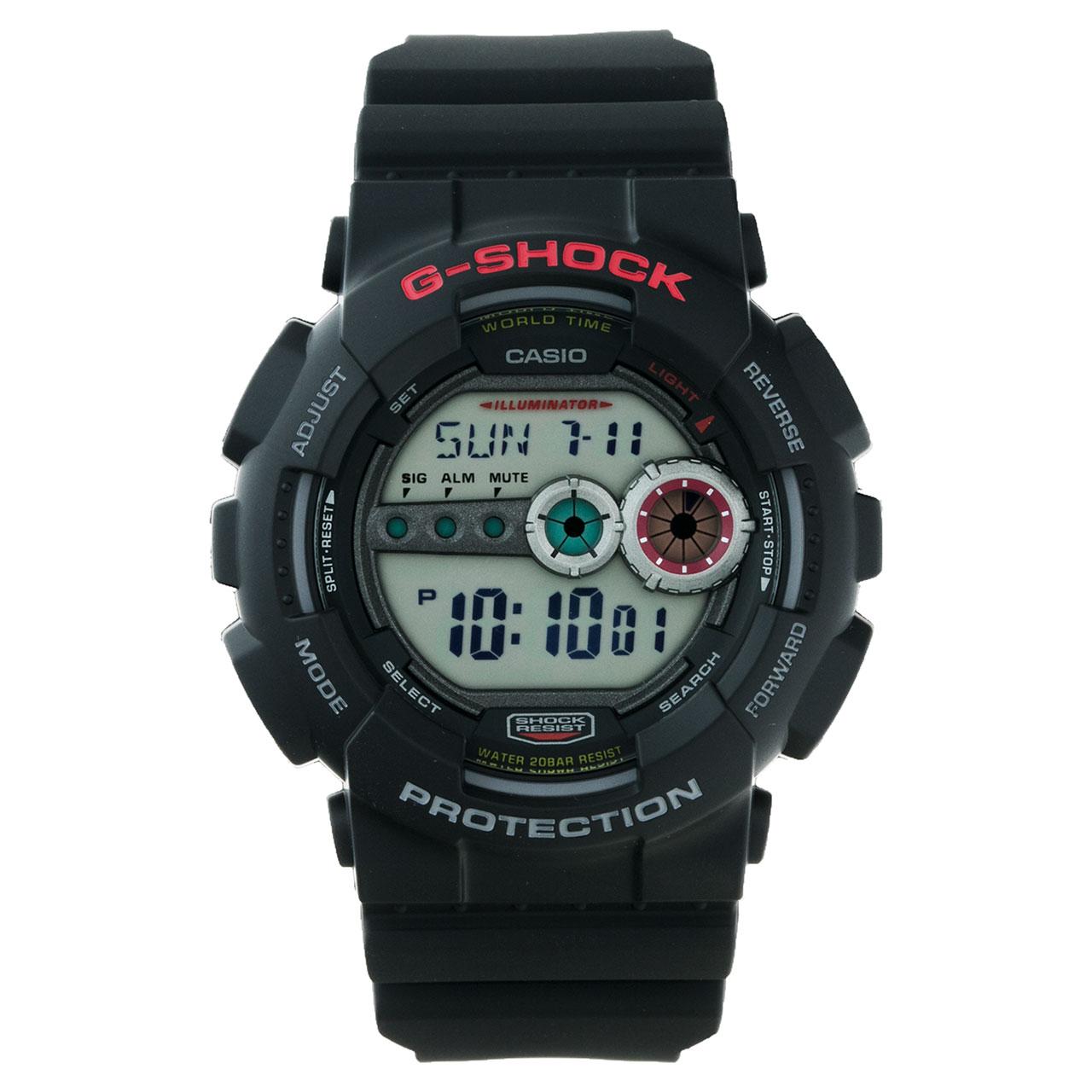 ساعت مچی دیجیتالی مردانه کاسیو جی شاک GD-100-1ADR 22