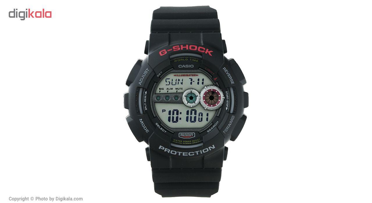 خرید ساعت مچی دیجیتالی مردانه کاسیو جی شاک GD-100-1ADR | ساعت مچی