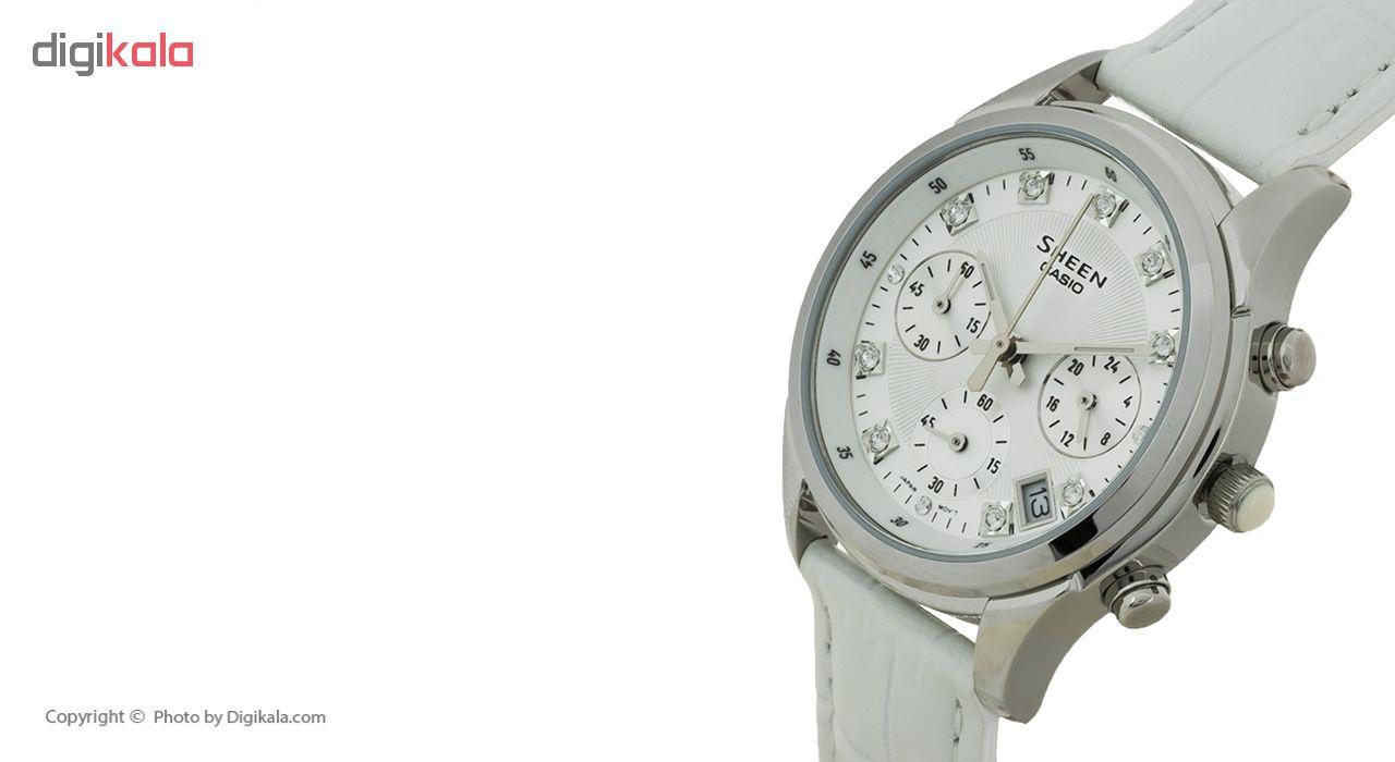 ساعت مچی عقربه ای زنانه کاسیو مدل SHE-5023L-7ADR