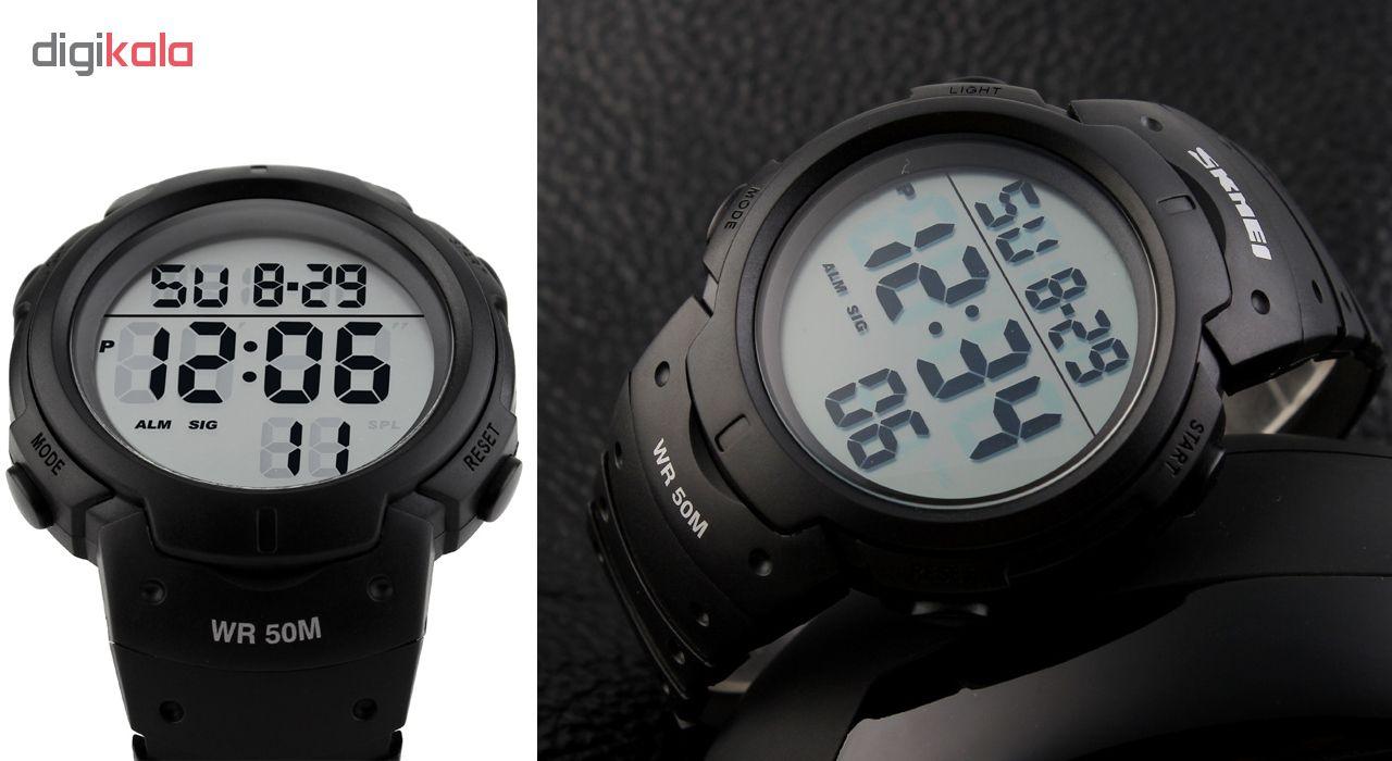 خرید ساعت مچی دیجیتال مردانه اسکمی مدل 1068 کد 01