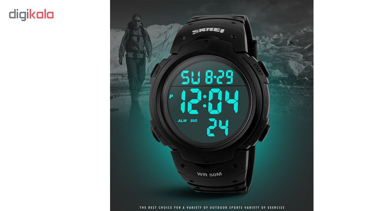 ساعت مچی دیجیتال مردانه اسکمی مدل 1068 کد 01