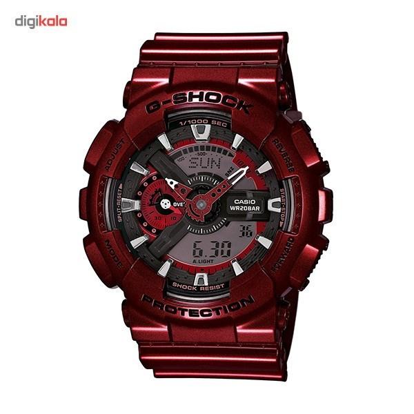 ساعت مچی دیجیتال مردانه کاسیو مدل G-Shock GA-110NM-4ADR -  - 2