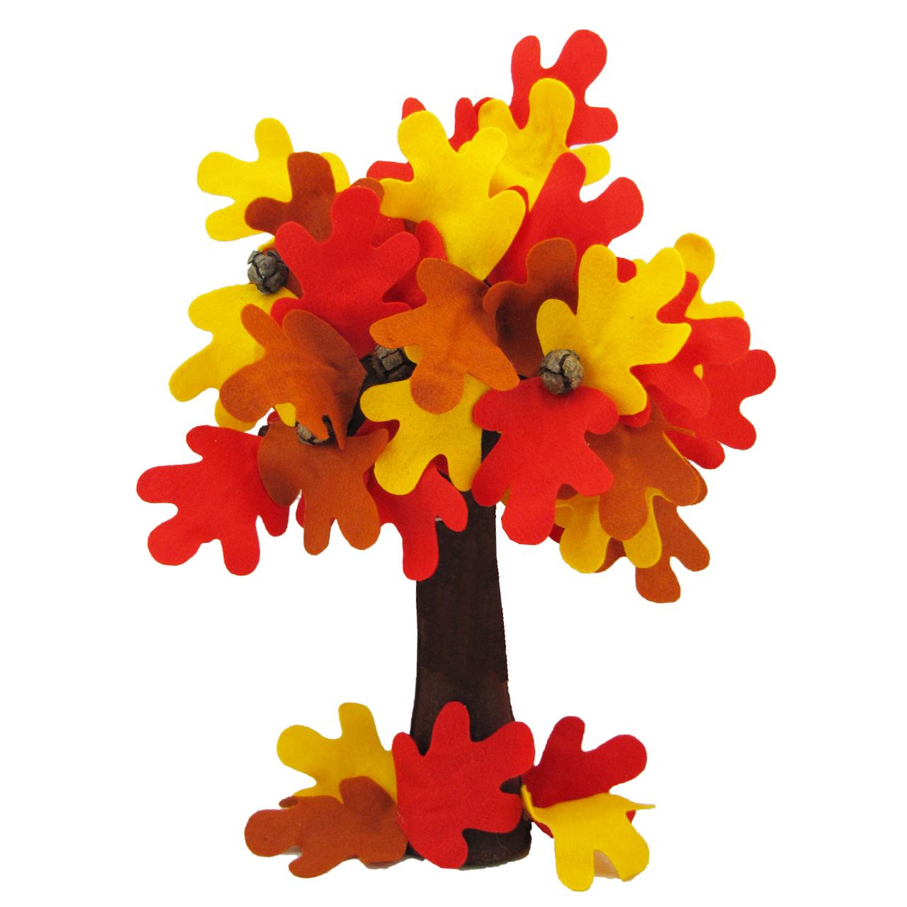 درختچه نمدی طرح پاییز