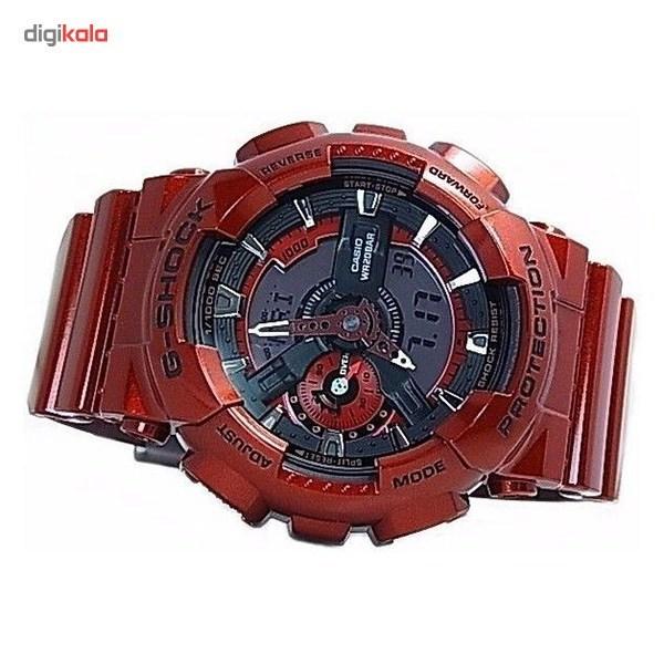 ساعت مچی دیجیتال مردانه کاسیو مدل G-Shock GA-110NM-4ADR -  - 3