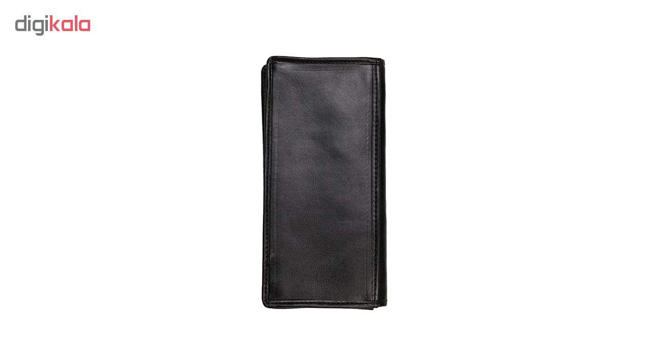 کیف پول مردانه رویال چرم مدل M23-Black main 1 2