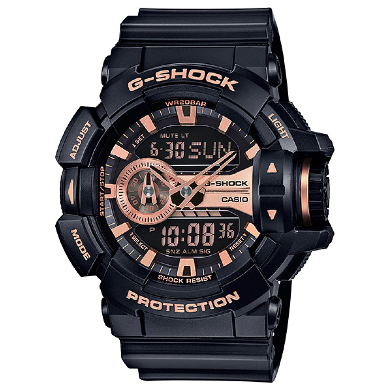 ساعت  کاسیو جی شاک مدل GA-400GB-1A4DR