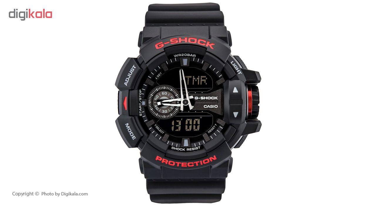 خرید ساعت مچی عقربه ای مردانه کاسیو جی شاک مدل GA-400HR-1ADR | ساعت مچی