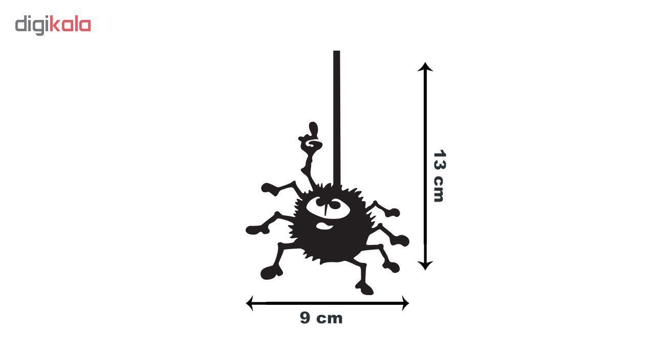 استیکر کلید پریز  گراسیپا طرح عنکبوت main 1 3