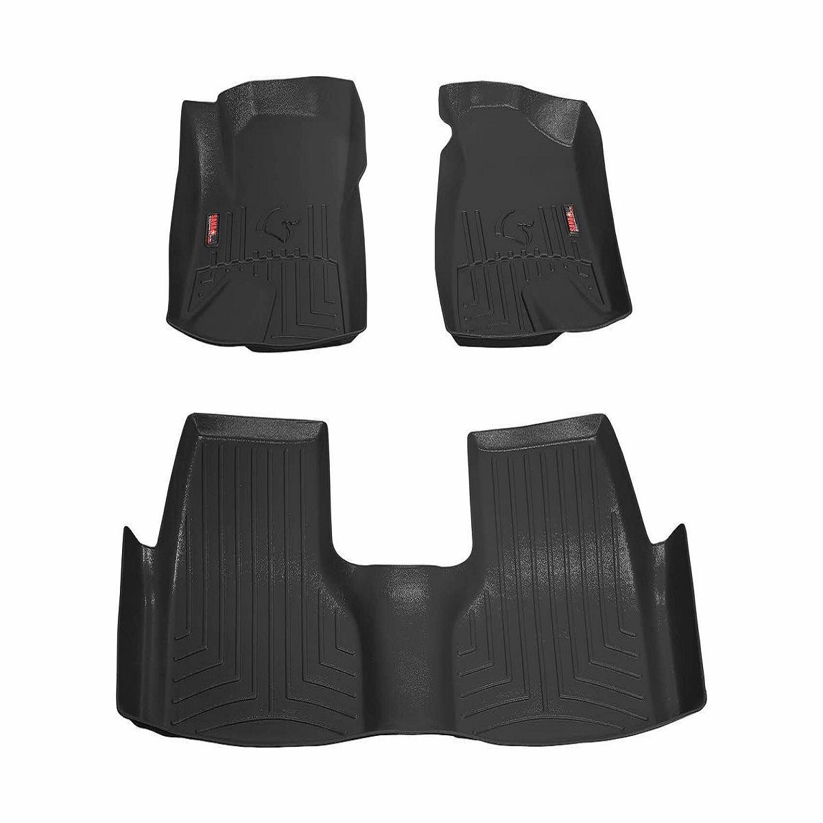 کفپوش سه بعدی خودرو سانا مدل 3 تکه مناسب برای دنا