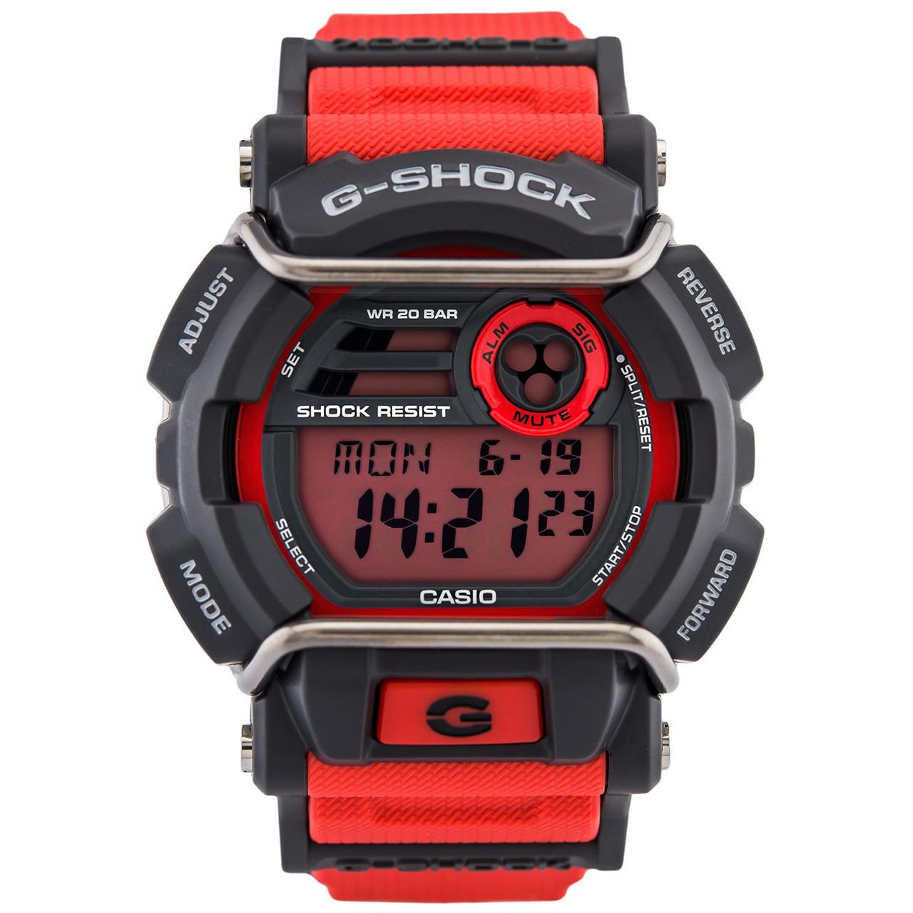 کد تخفیف                                      ساعت مچی عقربه ای مردانه کاسیو جی شاک مدل GD-400-4DR