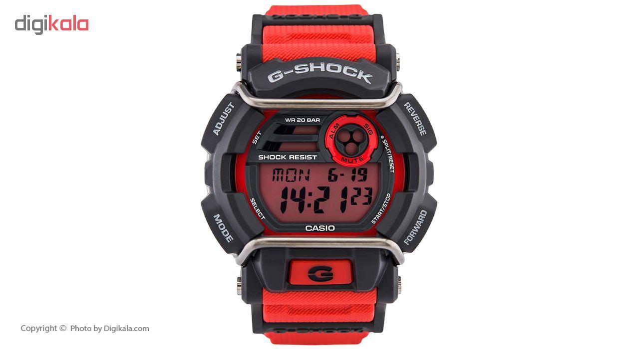 خرید ساعت مچی عقربه ای مردانه کاسیو جی شاک مدل GD-400-4DR | ساعت مچی