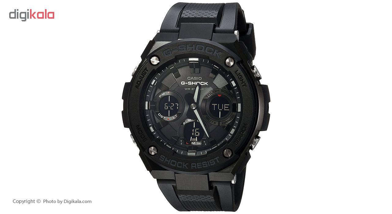 خرید ساعت مچی عقربه ای مردانه کاسیو جی شاک مدل GST-S100G-1BDR | ساعت مچی