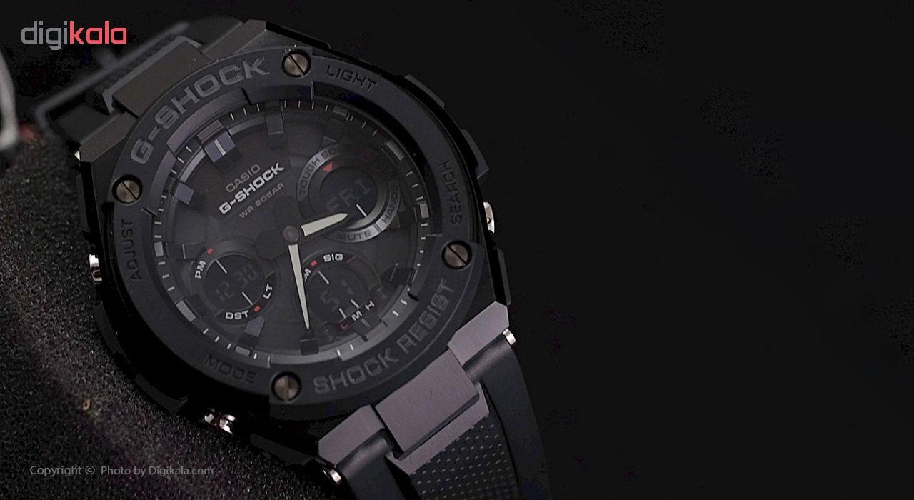 ساعت مچی عقربه ای مردانه کاسیو جی شاک مدل GST-S100G-1BDR