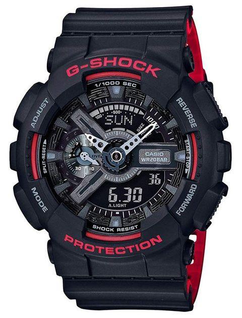 ساعت مچی عقربه ای مردانه کاسیو جی شاک مدل GA-110HR-1ADR -  - 1