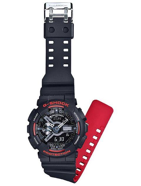 ساعت مچی عقربه ای مردانه کاسیو جی شاک مدل GA-110HR-1ADR -  - 4