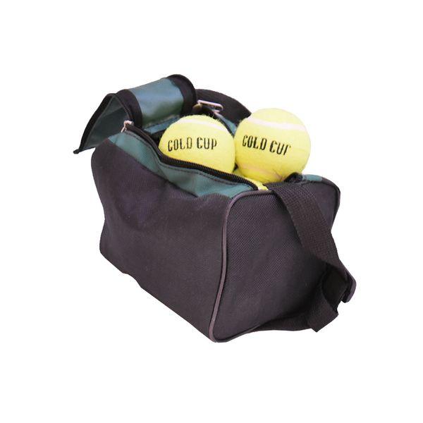 توپ تنیس گلد کاپ مدل 002 بسته 12 عددی سایز 3